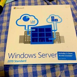 Windows Server 2019 standard (retail *5 client